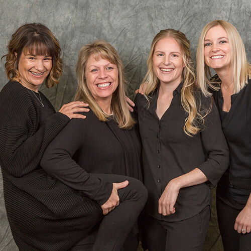 Goofy photo of the Federal Way General & Laser Dentistry dental team